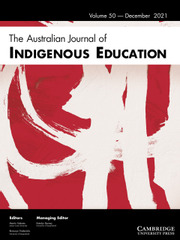 The Australian Journal of Indigenous Education