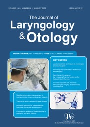 The Journal of Laryngology & Otology