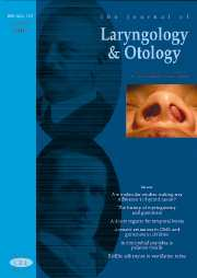 The Journal of Laryngology & Otology Volume 121 - Issue 10 -