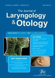 The Journal of Laryngology & Otology Volume 125 - Issue 2 -