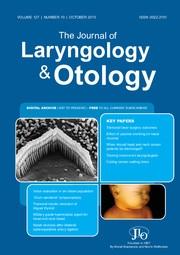 The Journal of Laryngology & Otology Volume 127 - Issue 10 -