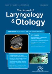 The Journal of Laryngology & Otology Volume 130 - Issue 11 -
