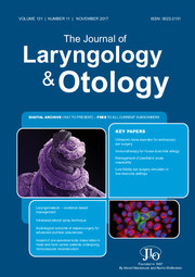 The Journal of Laryngology & Otology Volume 131 - Issue 11 -