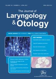 The Journal of Laryngology & Otology Volume 135 - Issue 4 -
