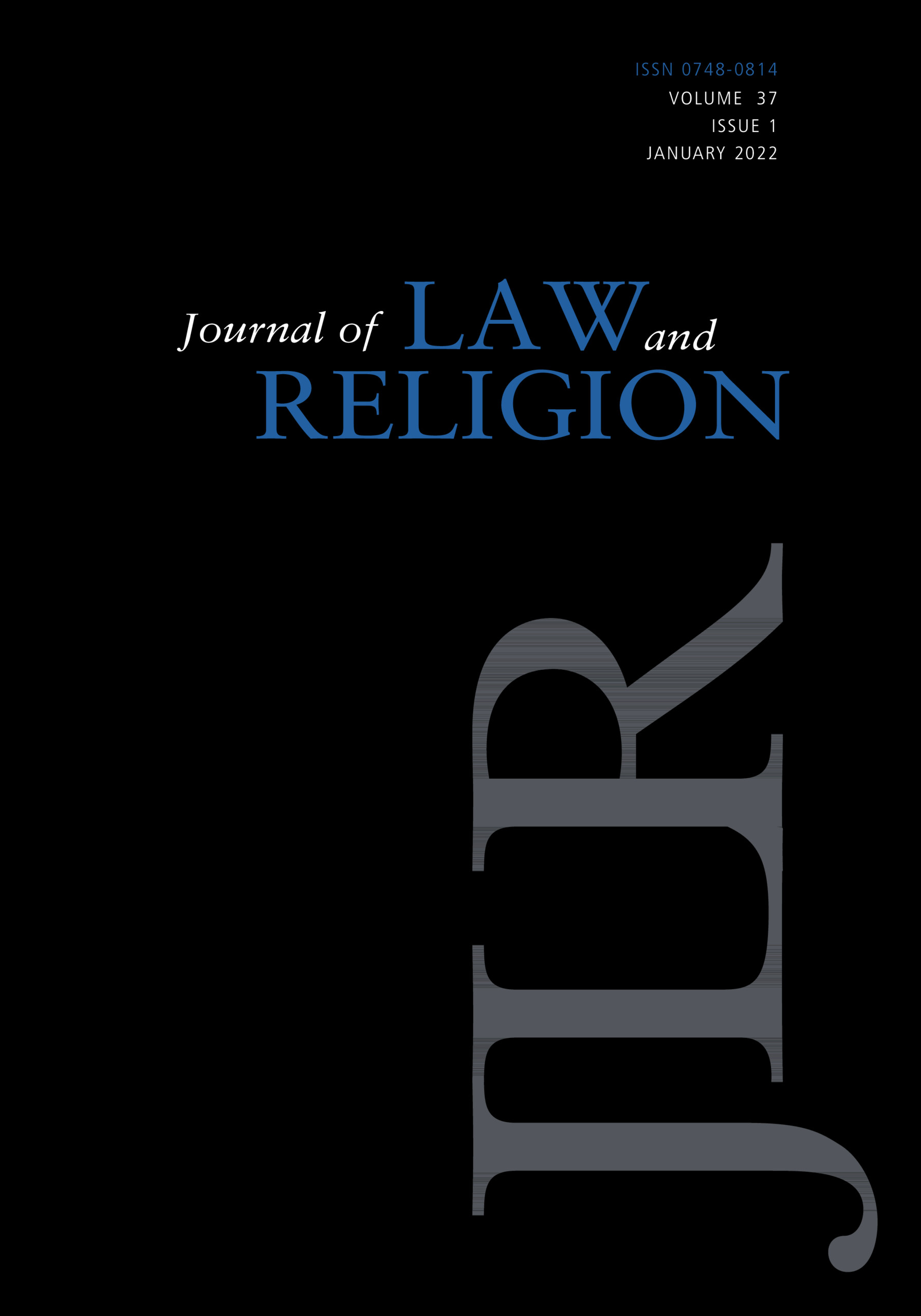 Journal of Law and Religion | Cambridge Core