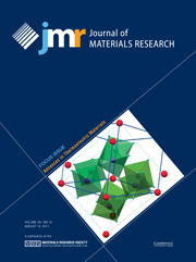 Journal of Materials Research Volume 26 - Issue 15 -  Focus Issue: Advances in Thermoelectric Materials