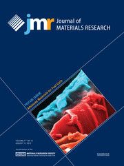 Journal of Materials Research Volume 27 - Issue 15 -  Focus Issue: Advanced Materials for Fuel Cells