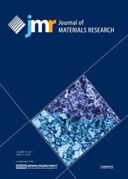 Journal of Materials Research Volume 27 - Issue 7 -