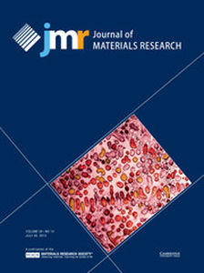 Journal of Materials Research Volume 28 - Issue 14 -