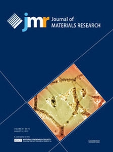 Journal of Materials Research Volume 28 - Issue 15 -