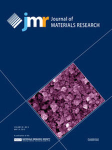 Journal of Materials Research Volume 28 - Issue 9 -