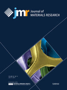 Journal of Materials Research Volume 29 - Issue 13 -