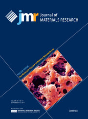 Journal of Materials Research Volume 29 - Issue 17 -  Focus Issue: The Materials Science of Additive Manufacturing