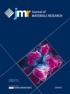 Journal of Materials Research Volume 29 - Issue 21 -