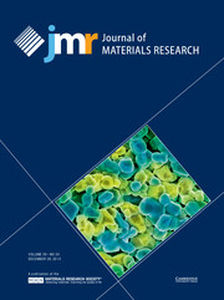 Journal of Materials Research Volume 29 - Issue 24 -
