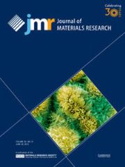 Journal of Materials Research Volume 30 - Issue 12 -