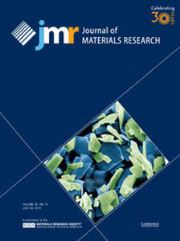 Journal of Materials Research Volume 30 - Issue 14 -