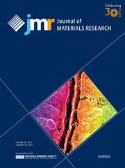 Journal of Materials Research Volume 30 - Issue 2 -