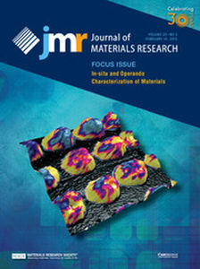 Journal of Materials Research Volume 30 - Issue 3 -  Focus Issue: In-situ and Operando Characterization of Materials