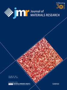Journal of Materials Research Volume 30 - Issue 4 -