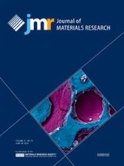Journal of Materials Research Volume 31 - Issue 12 -