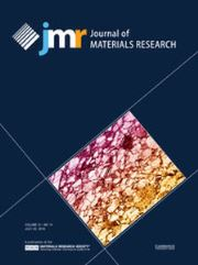 Journal of Materials Research Volume 31 - Issue 14 -
