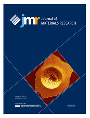 Journal of Materials Research Volume 31 - Issue 22 -