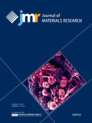 Journal of Materials Research Volume 31 - Issue 3 -