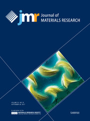 Journal of Materials Research Volume 32 - Issue 18 -