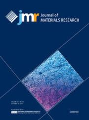 Journal of Materials Research Volume 32 - Issue 19 -