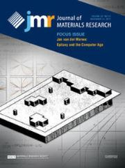 Journal of Materials Research Volume 32 - Issue 21 -  Focus Issue: Jan van der Merwe: Epitaxy and the Computer Age