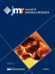 Journal of Materials Research Volume 32 - Issue 4 -