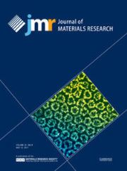 Journal of Materials Research Volume 32 - Issue 9 -