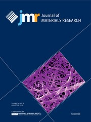 Journal of Materials Research Volume 34 - Issue 16 -