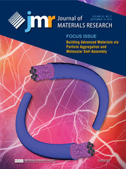 Journal of Materials Research Volume 34 - Issue 17 -  Focus Issue: Building Advanced Materials via Particle Aggregation and Molecular Self-Assembly