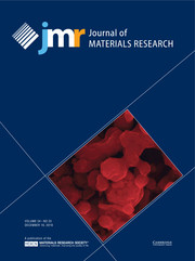 Journal of Materials Research Volume 34 - Issue 23 -