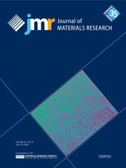 Journal of Materials Research Volume 35 - Issue 14 -