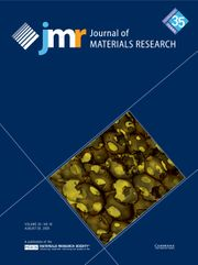 Journal of Materials Research Volume 35 - Issue 16 -