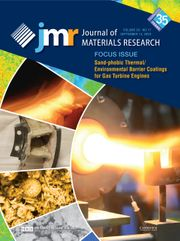 Journal of Materials Research Volume 35 - Issue 17 -  Focus Issue: Sand-phobic Thermal/Environmental Barrier Coatings for Gas Turbine Engines