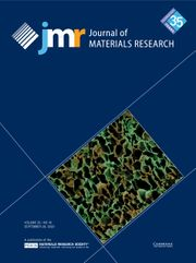 Journal of Materials Research Volume 35 - Issue 18 -