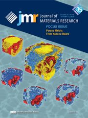 Journal of Materials Research Volume 35 - Issue 19 -  Focus Issue: Porous Metals: From Nano to Macro