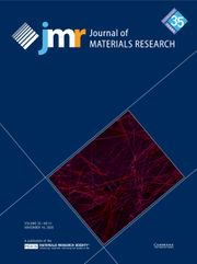 Journal of Materials Research Volume 35 - Issue 21 -