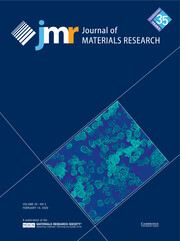 Journal of Materials Research Volume 35 - Issue 3 -