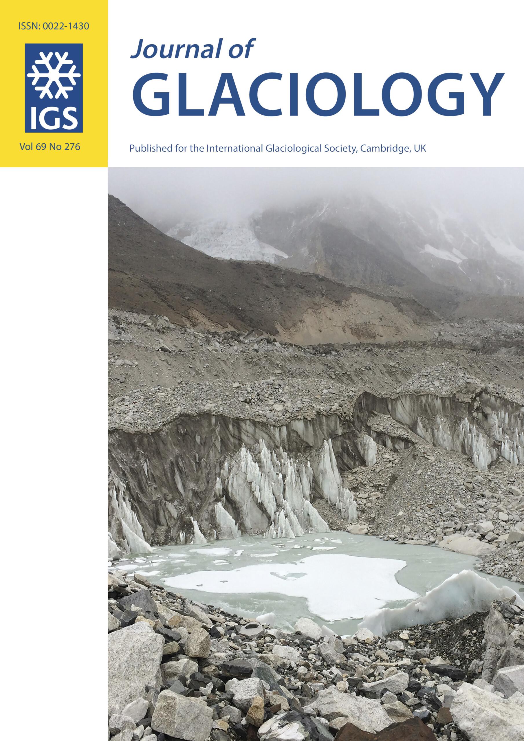 Journal of Glaciology | Cambridge Core
