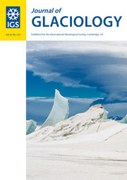 Journal of Glaciology Volume 62 - Issue 232 -