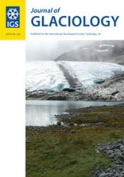 Journal of Glaciology Volume 63 - Issue 238 -
