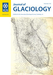 Journal of Glaciology Volume 63 - Issue 242 -