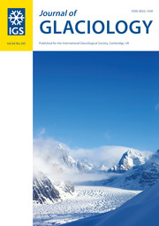 Journal of Glaciology Volume 64 - Issue 245 -
