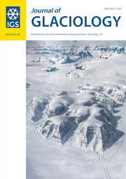 Journal of Glaciology Volume 64 - Issue 247 -
