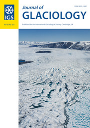 Journal of Glaciology Volume 65 - Issue 251 -
